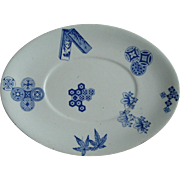 Royal Worcester Dish: Aesthetic: 1876
