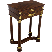19th Century French Empire Side Table