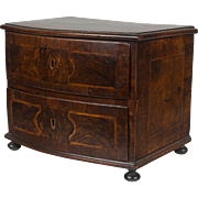 19th c. English Miniature Inlaid Commode