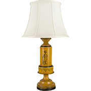 English Tole Lamp