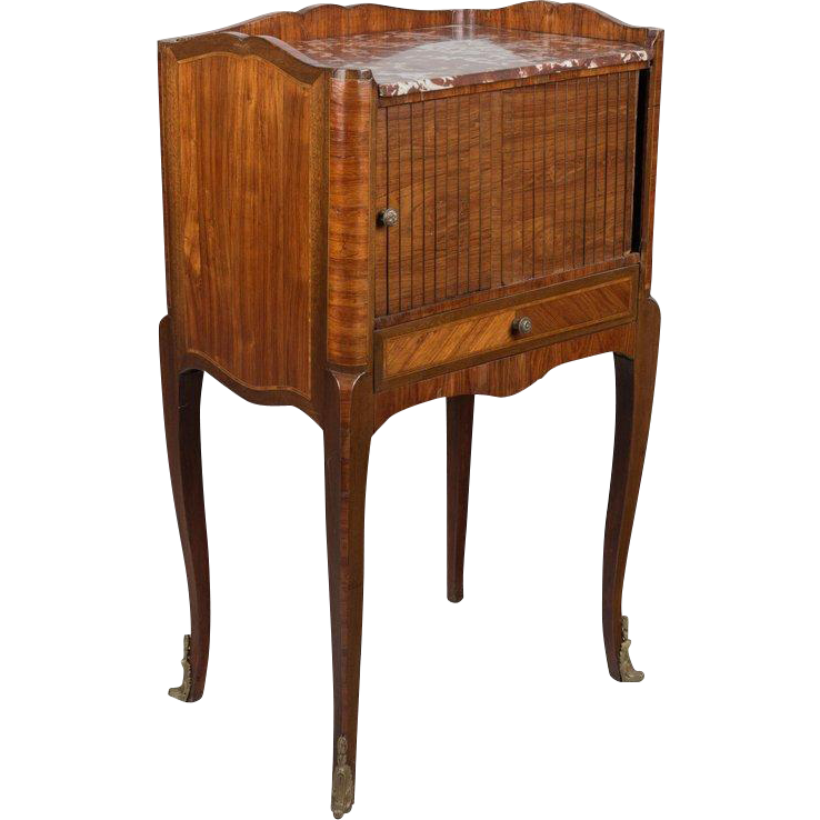 19th French Louis XV Style Rosewood Side Table
