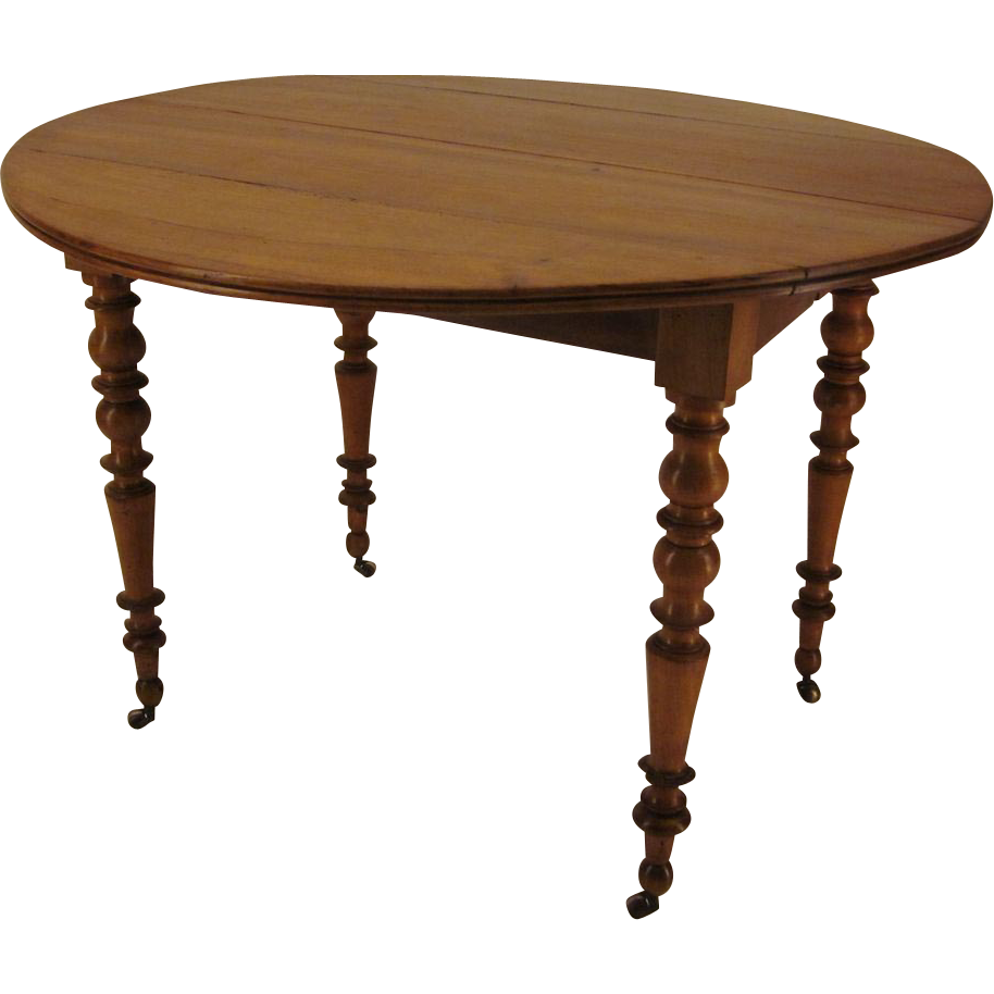 Louis Philippe Style Dining Table From Ofleury On Ruby Lane