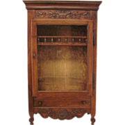 18th c. Louis XV Verrio or Display cabinet