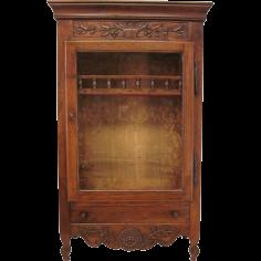 18th c. Louis XV Verrio or Display cabinet