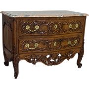 18th C. Louis XV Period Commode or Chest of Drawers