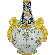 French Faience of Desvres Vase