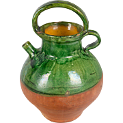 French Terracotta Vinaigrier or Vinegar Pot