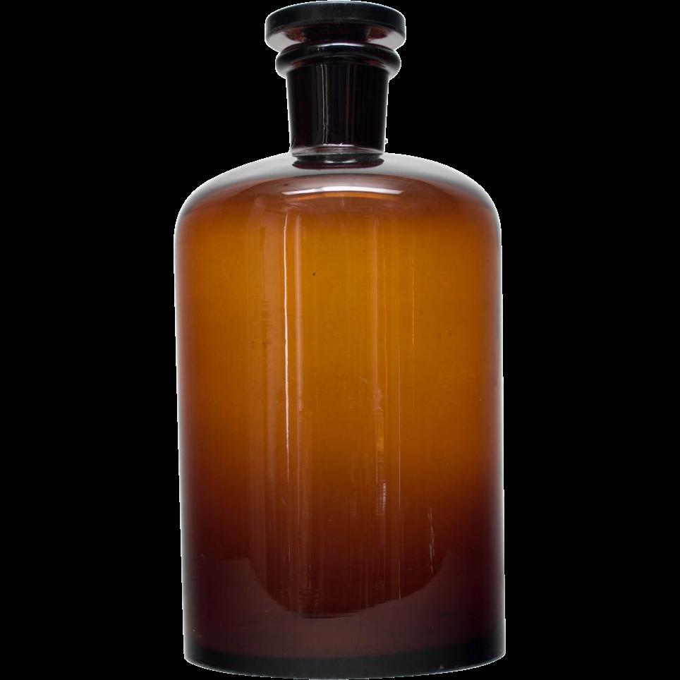 L Amber Glass Bottles