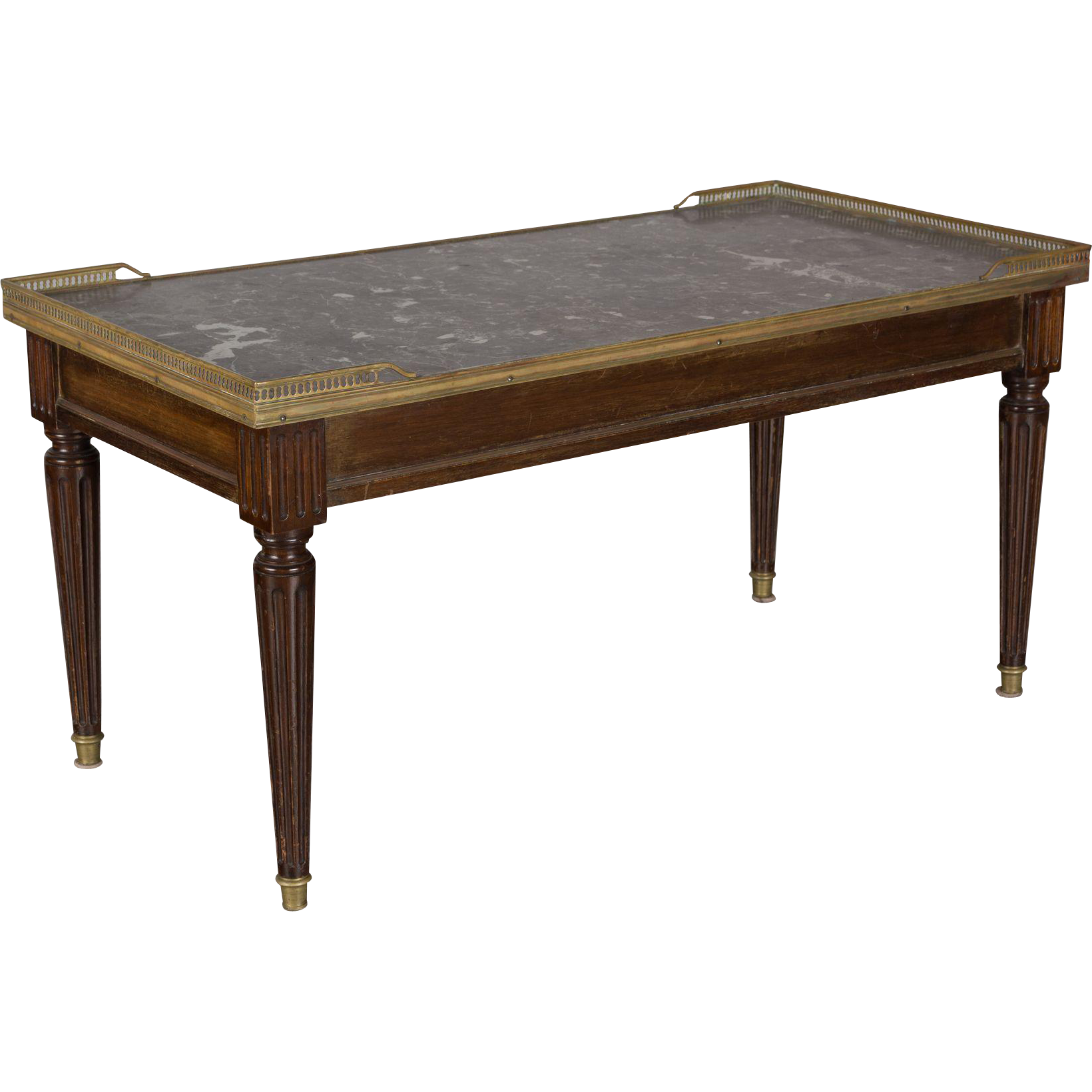 louis xvi style mahogany table from ofleury on ruby lane. Black Bedroom Furniture Sets. Home Design Ideas