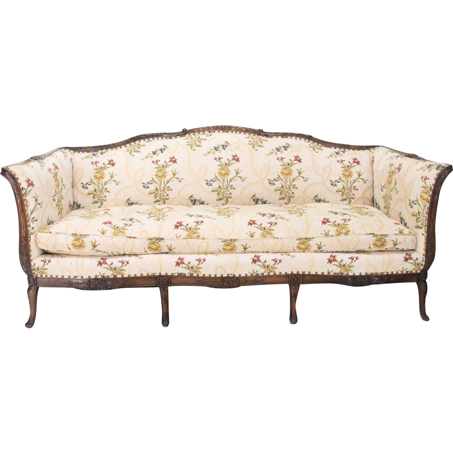 Late 19th century louis xv style canape or sofa sold on for Canape style louis xv