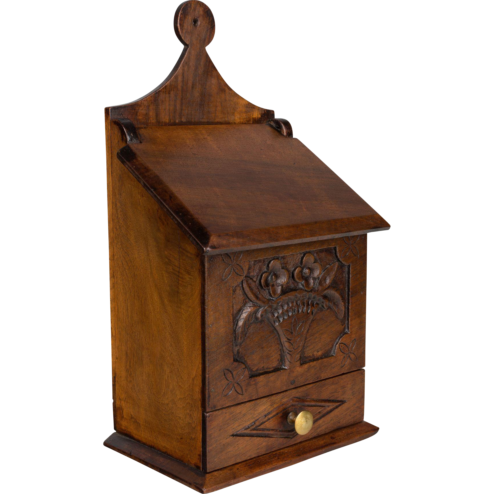 French 19th Century Salt Box