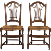 Pair of 19th c. French Louis XVI Style Chairs