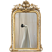 A 19th c. Louis Philippe Style Gilded Mirror - Red Tag Sale Item