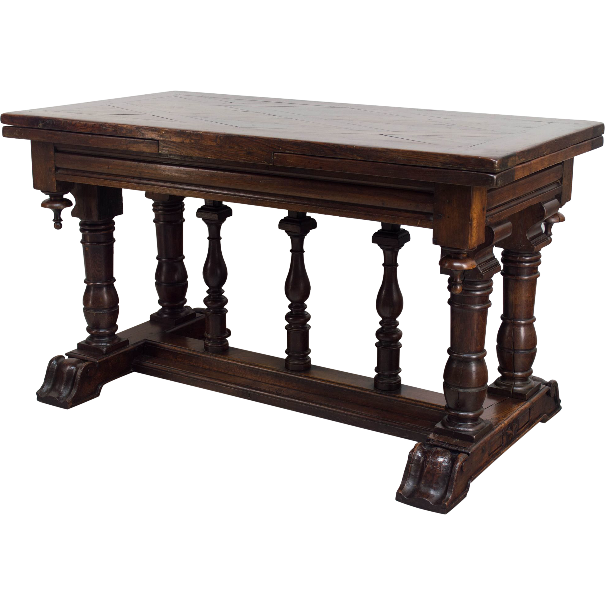 French Renaissance Style Refractory Table