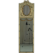 19th c. Louis XVI Style Trumeau Mirror