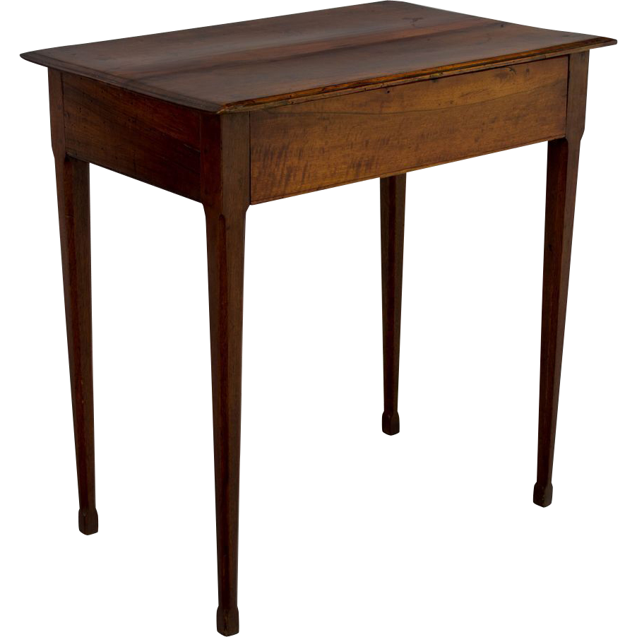 19th c french directoire side table from ofleury on ruby lane. Black Bedroom Furniture Sets. Home Design Ideas