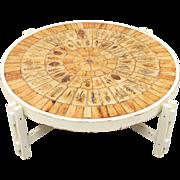 Roger Capron Ceramic Table