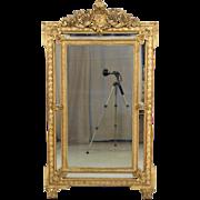 19th Century Napoleon III Gilded Mirror