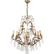 Louis XV Style Crystal Chandelier