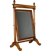 19th Century French Empire Period Cheval Mirror