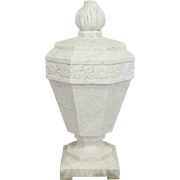 French Art Deco Marble Garden Sculpture