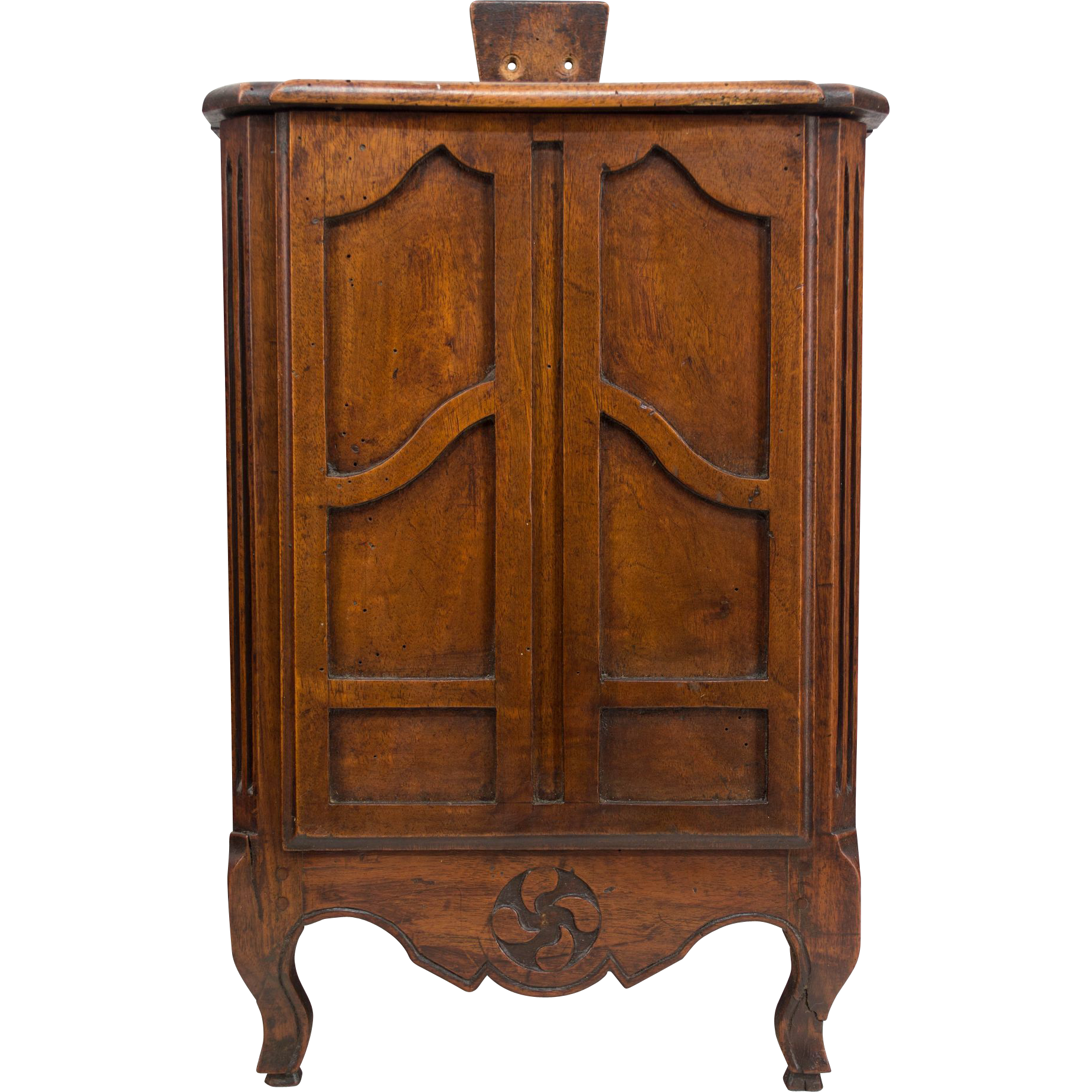 19th c. French Rare Armoire Form Fariniere