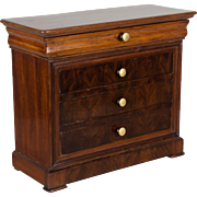 19th c. Louis-Philippe Miniature Commode