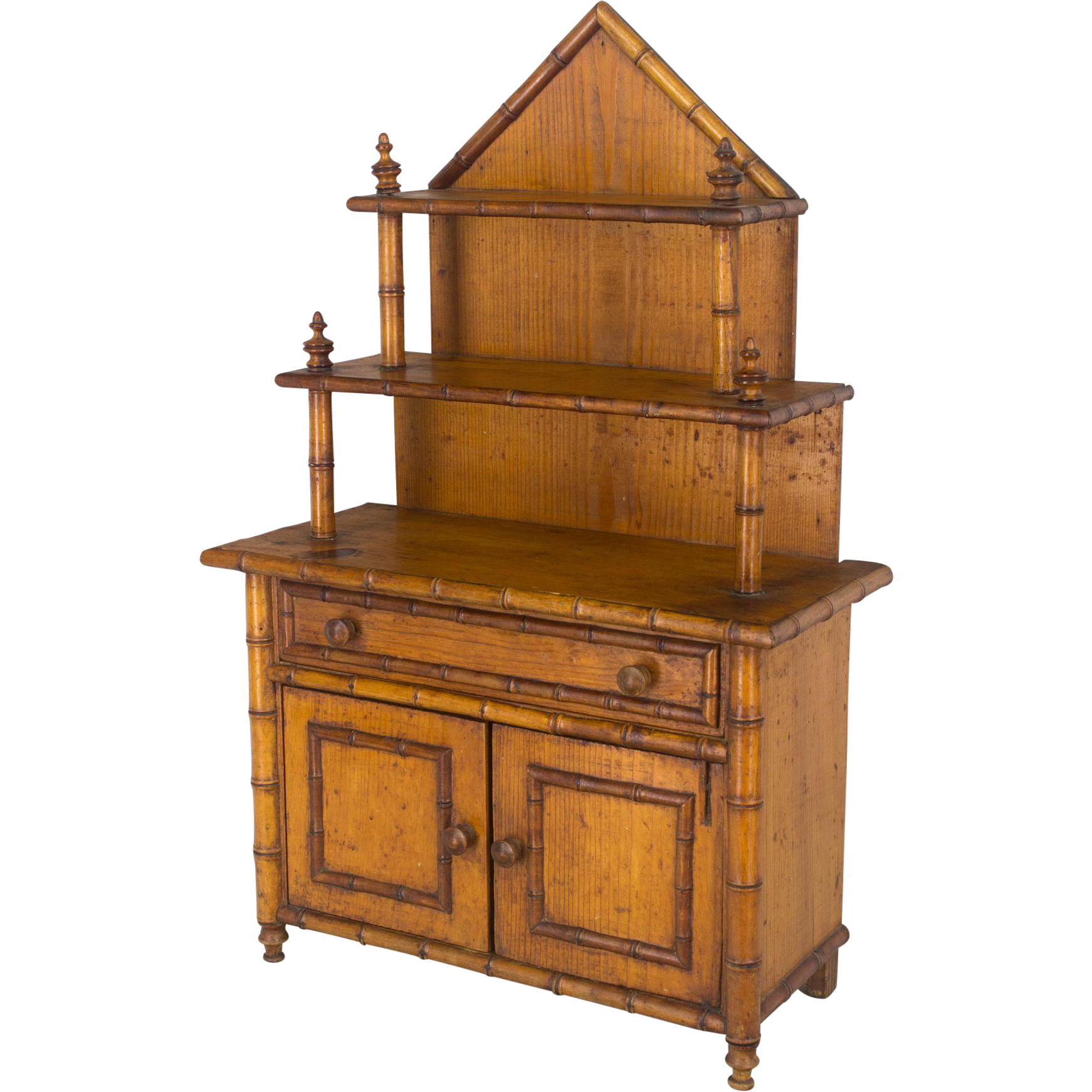 French Miniature Buffet Doll Furniture