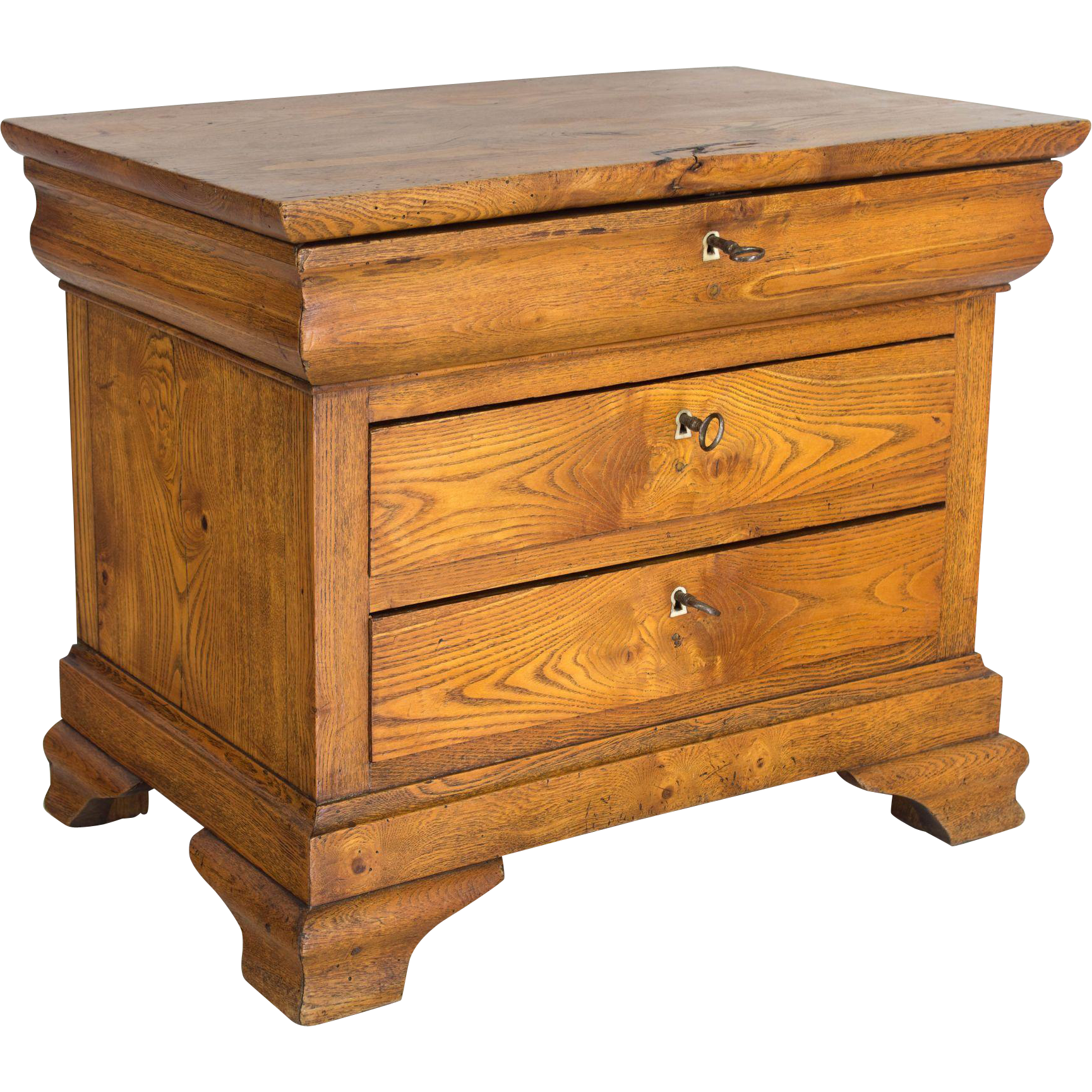 Commode furniture - 19th C Louis Philippe Miniature Commode