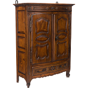 19th c. Miniature French Armoire