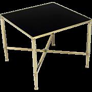 Maison Jansen Style Brass Cocktail Table