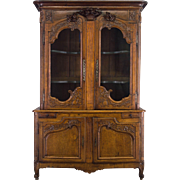 18th Century Country French Buffet à Deux Corps