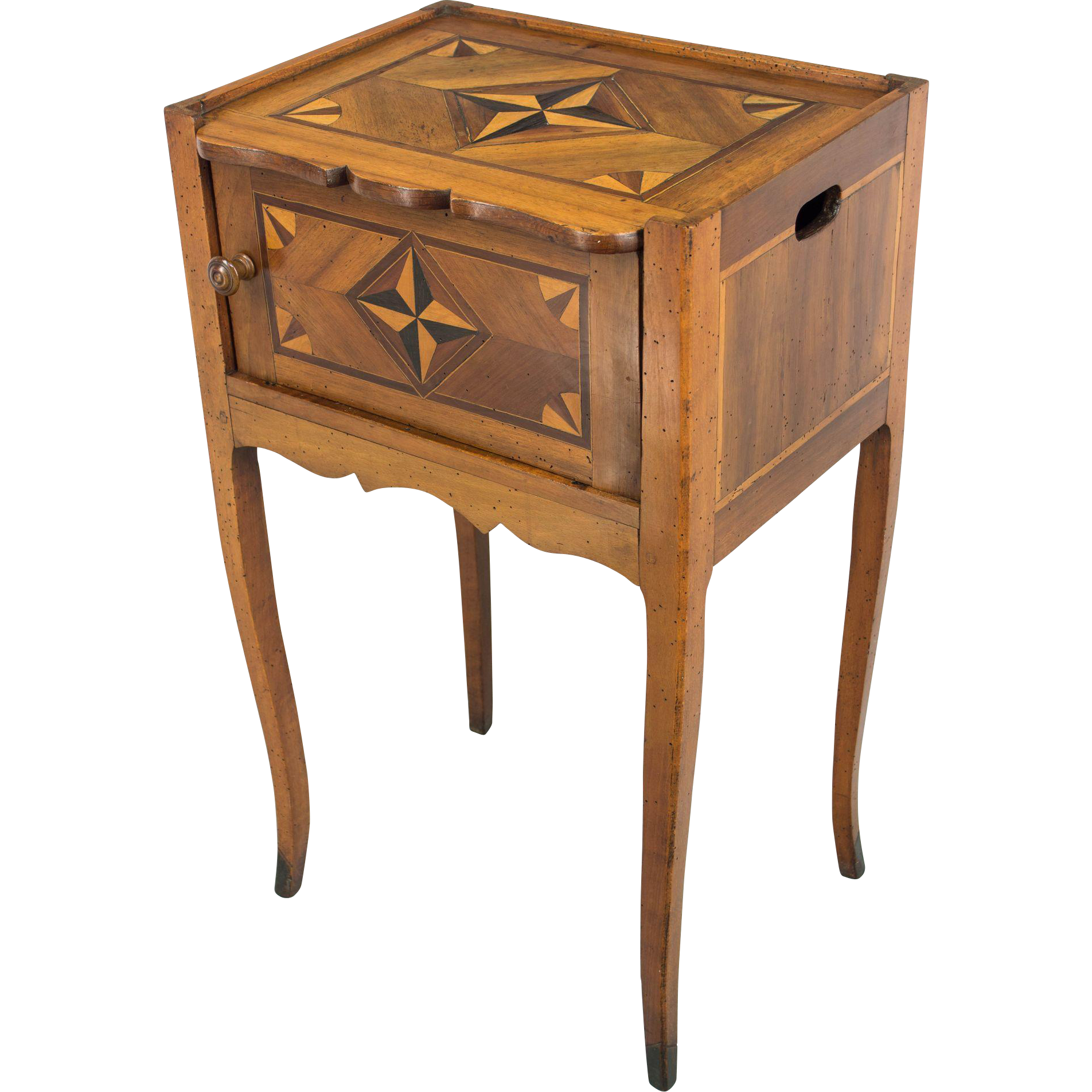 19th c louis xv style side table from ofleury on ruby lane - Table louis xv ...