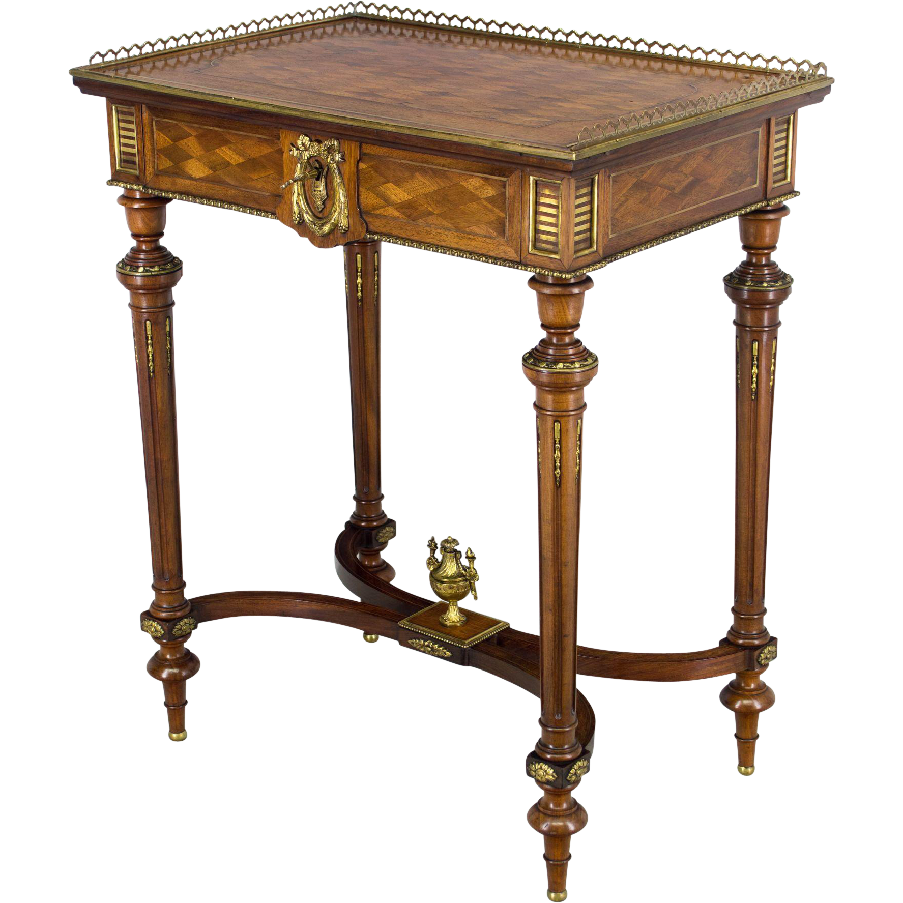 19th Century Napoleon III Travailleuse or Side Table