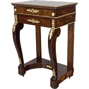 19th c. French Empire Restauration Side Table