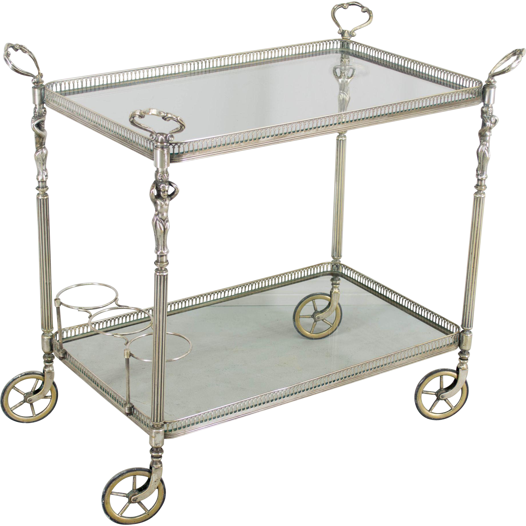 French 1940's Bar Cart
