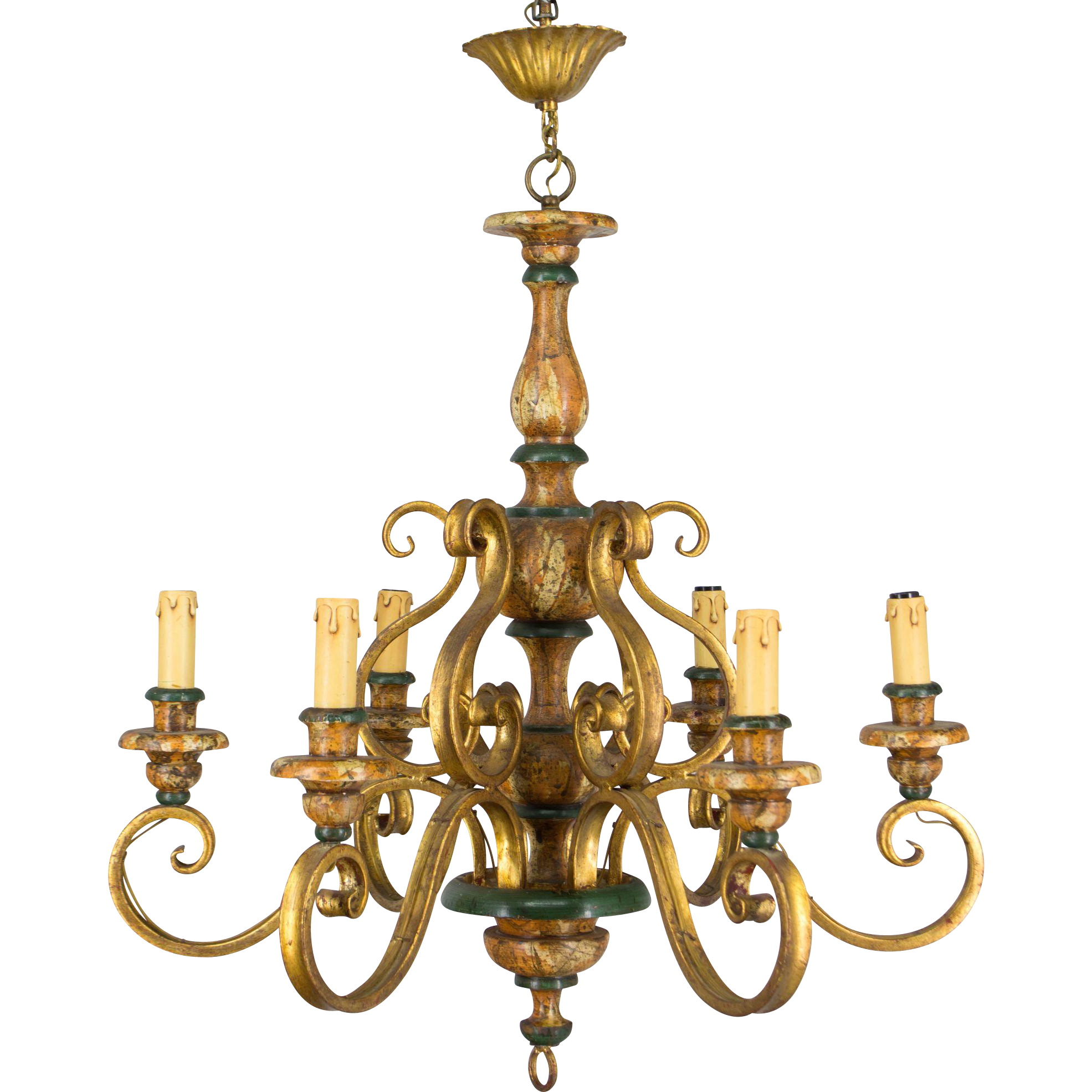 Country French Chandelier From Ofleury On Ruby Lane