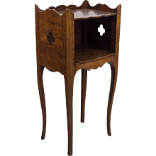 Country French Walnut Side Table