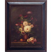 Pair of Large Dutch Style Still Life Paintings