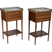 Pair of Louis XVI Style Side Tables