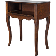 19th c. Country French Louis XV style side table