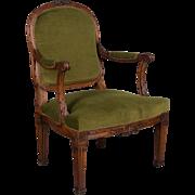 A 19th c. Louis XVI Style Fauteuil