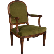 Pair of 19th c. Louis XVI Style Fauteuils