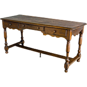19th Century Country French Bureau Plat