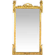 French Louis XVI Style Gilded Mirror