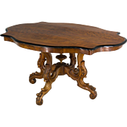19th c. Napoleon III Gueridon or Center Table