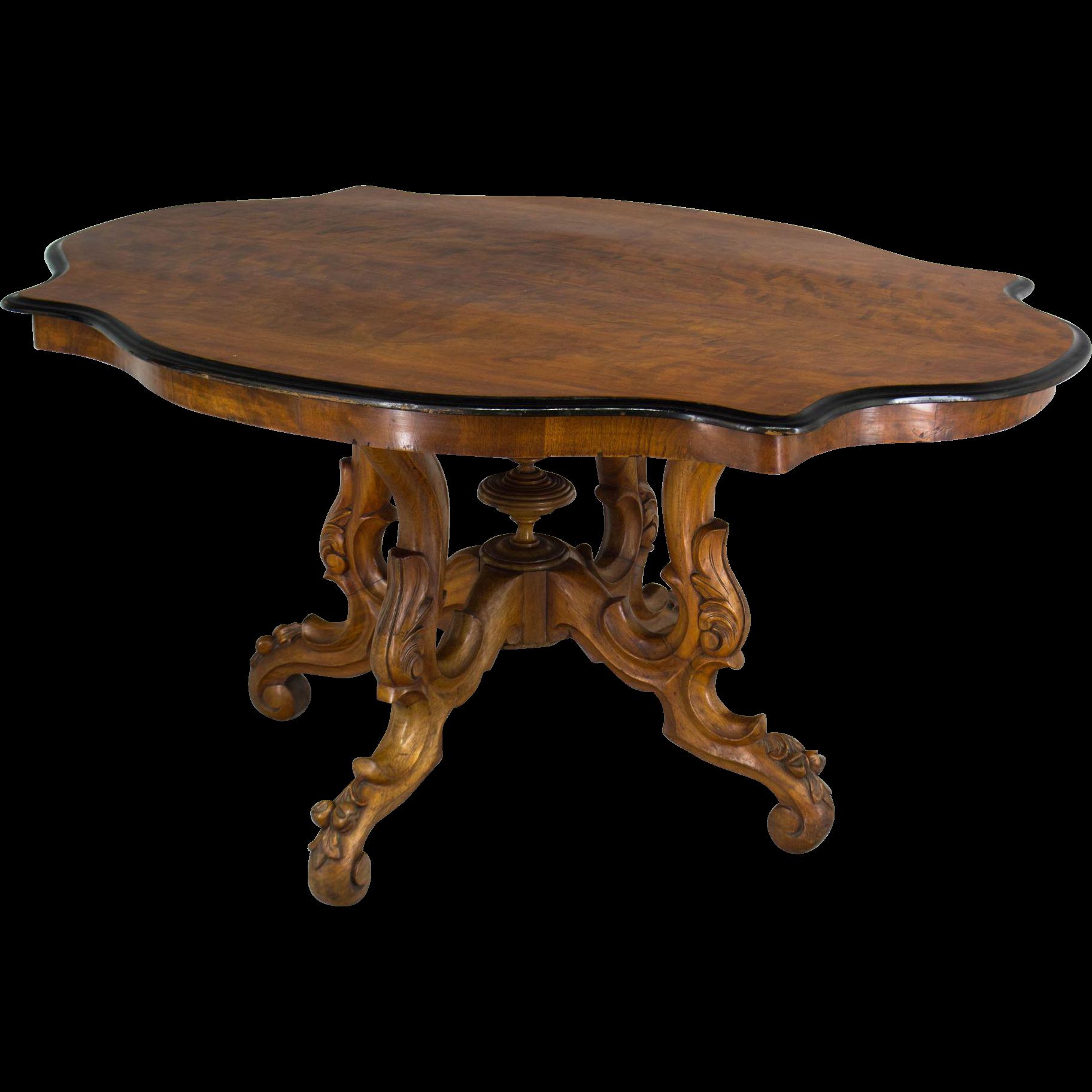 19th c. Napoleon III Gueridon or Center Table