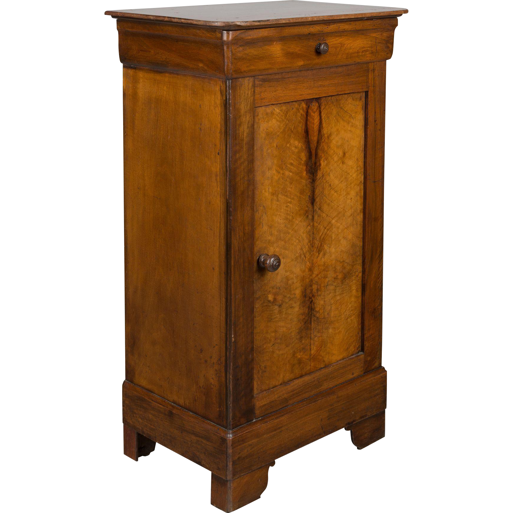 Louis philippe style side table from ofleury on ruby lane for Table louis philippe