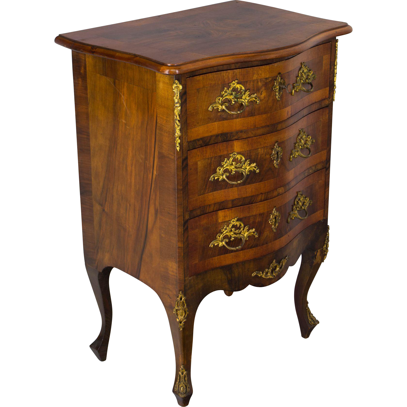 louis xv style commode or chest of drawers from ofleury on. Black Bedroom Furniture Sets. Home Design Ideas