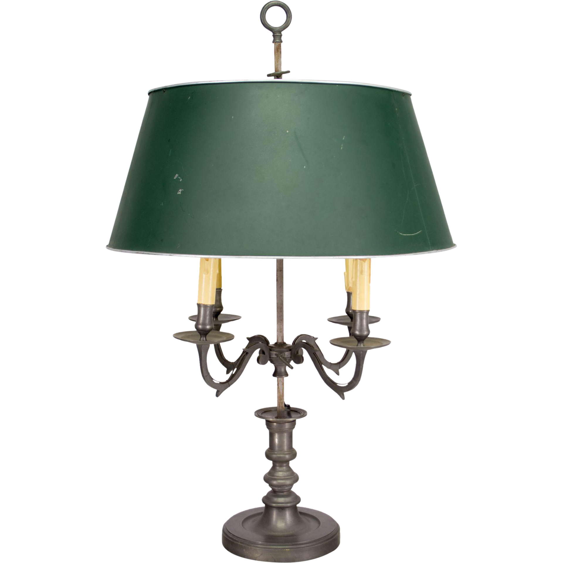 Large French Bouillotte Table Lamp